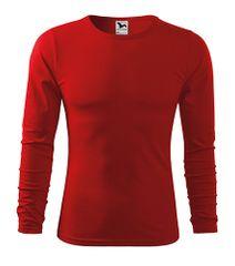 Malfini Pánske priliehavé tričko s dlhým rukávom Malfini Fit-T 119 červená L