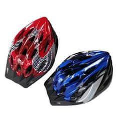 Spartan kolesarska čelada Tour rdeča S