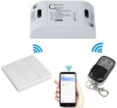 iQ-Tech SmartLife SB002, WiFi relé s ovladači
