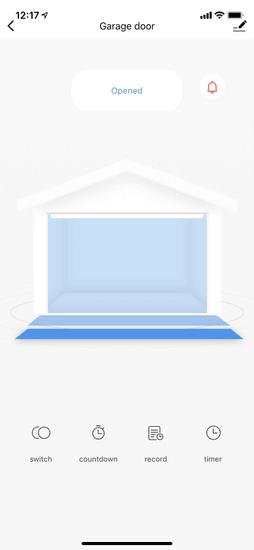 iQ-Tech SmartLife SB003, WiFi relé pro garážová vrata a brány