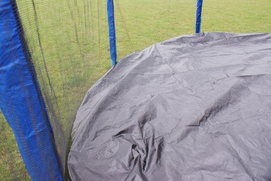 Goodjump GoodJump 4UPVC modrá trampolína 305 cm s ochrannou sítí + žebřík + krycí plachta