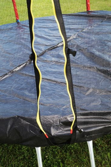 Goodjump GoodJump TOP 4UPVC RED trampolína 305 cm s ochrannou sítí + žebřík + krycí plachta + kotvící sada 4 (ks)