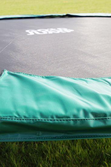 Goodjump GoodJump TOP 4UPVC zelená trampolína 305 cm s ochrannou sítí + žebřík + krycí plachta + kotvící sada 4 (ks)