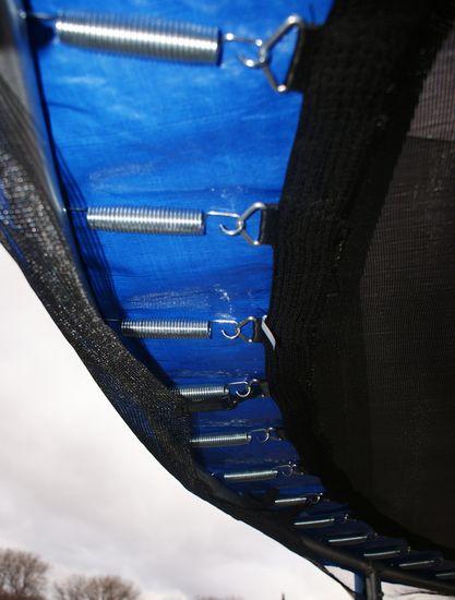 Goodjump GoodJump Trampolína 400 cm s ochrannou sítí + žebřík+ krycí plachta