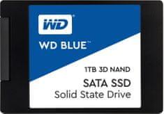 """Western Digital WD SSD Blue 3D NAND, 2,5"""" - 1TB WDS100T2B0A"""