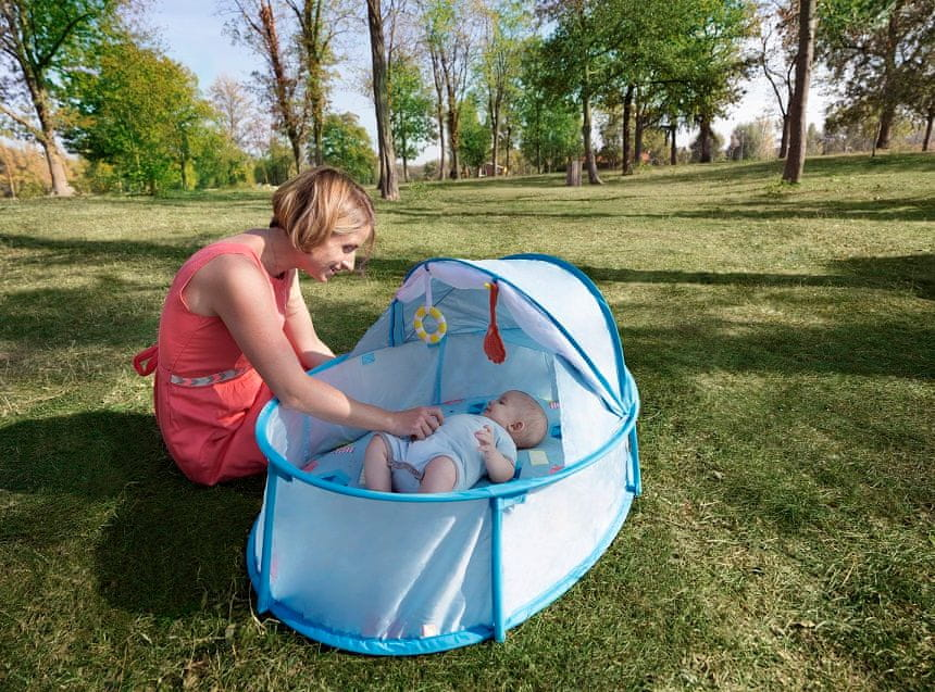 Babymoov baby postýlka Little Babyni Parasols