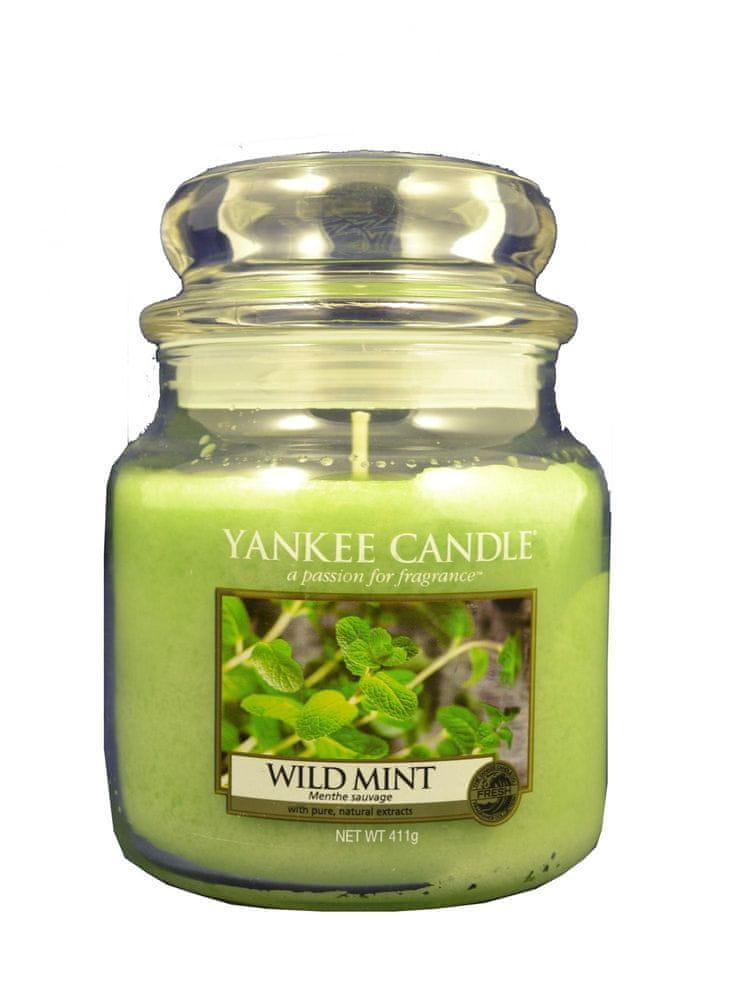 Yankee Candle Classic střední 411 g Wild Mint