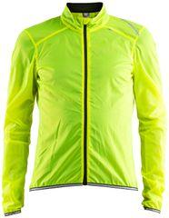 Craft Lithe kolesarska jakna, rumena, S