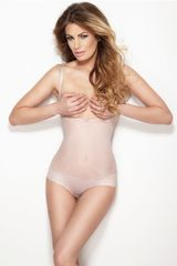 Mitex Sťahovacie prádlo Mitex body string glam różowy S, ružová, 3 XL