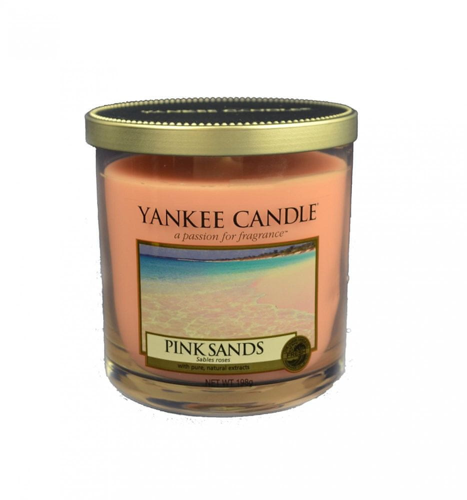 Yankee Candle Décor malý 198 g Pink Sands