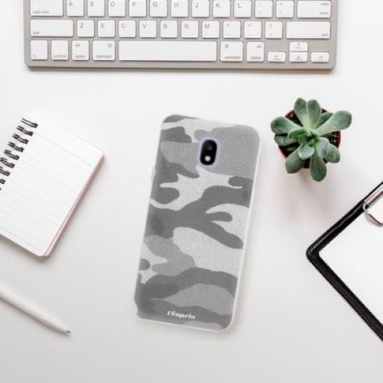 iSaprio Silikónové puzdro s motívom Gray Camuflage 02