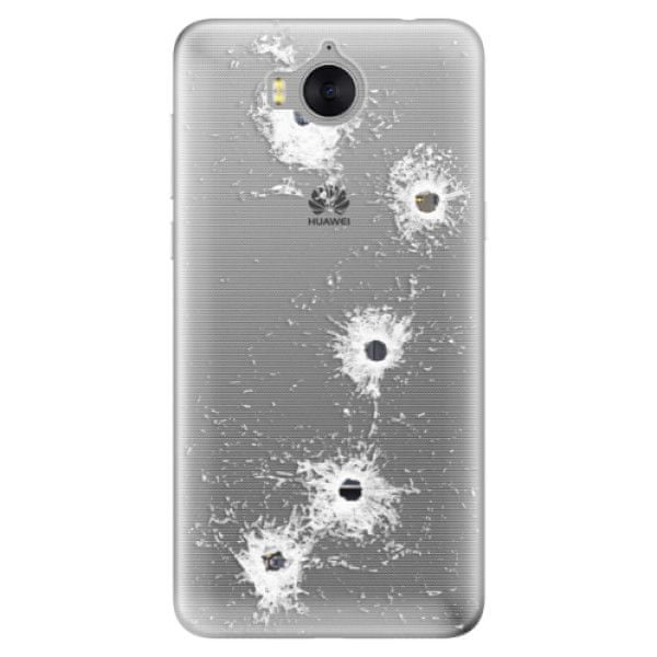 iSaprio Silikonové pouzdro - Gunshots pro Huawei Y5 2017/Huawei Y6 2017