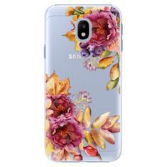 iSaprio Plastový kryt - Fall Flowers pro Samsung Galaxy J3 (2017)