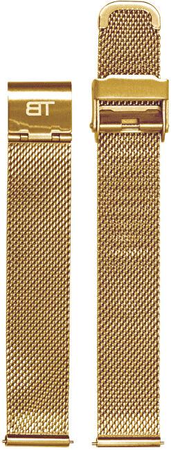 Bentime Kovový mesh s easy clickem - zlatý (Šířka 20 mm)