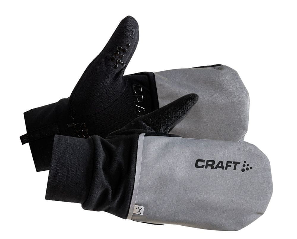 Craft Rukavice Hybrid Weather černá L