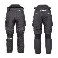 W-TEC Pánské moto kalhoty Thollte - barva Black, velikost 6XL