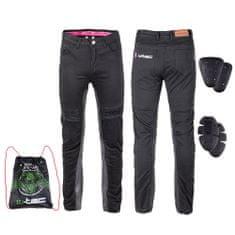 W-TEC Dámské moto kalhoty Ragana - barva černá, velikost 4XL