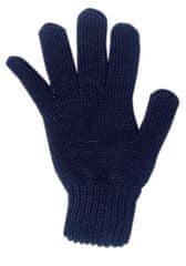 Maximo dětské rukavice prstové 4 modrá