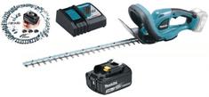 Makita akumulatorske škarje za živo mejo DUH523RF