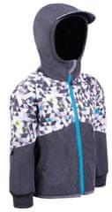 Unuo chlapčenská softshellová bunda STREET 134 - 140 sivá