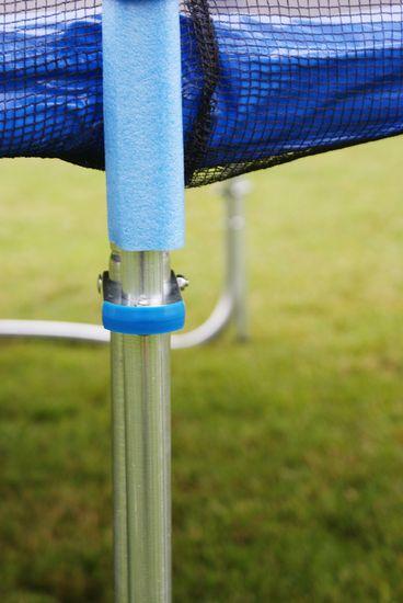 Goodjump GoodJump 4UPVC Trampolína 400 cm s ochrannou sítí + žebřík + krycí plachta