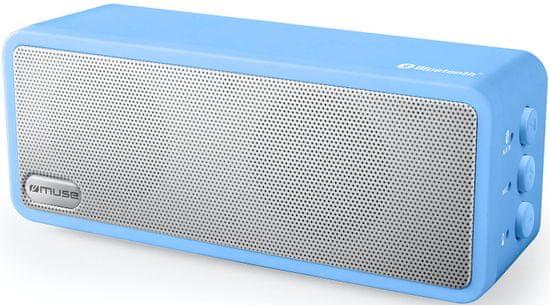 Muse bluetooth zvočnik M-350 BTM, moder