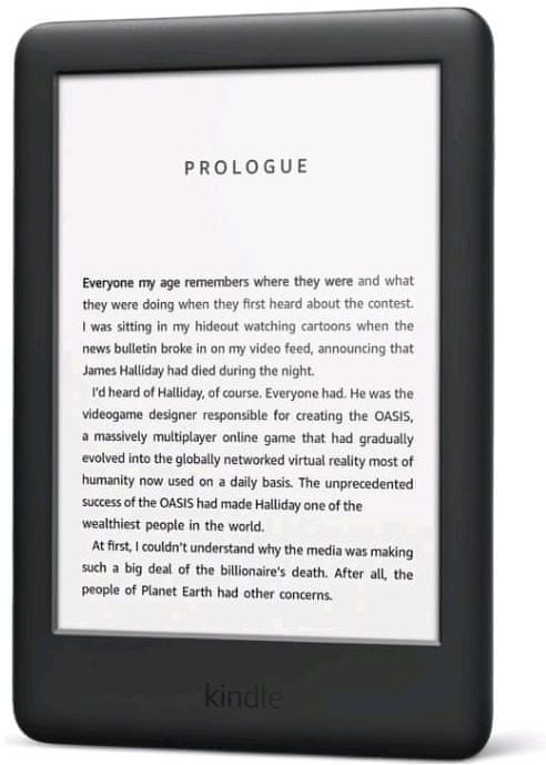 Amazon Kindle Touch 2019, Black - S REKLAMOU