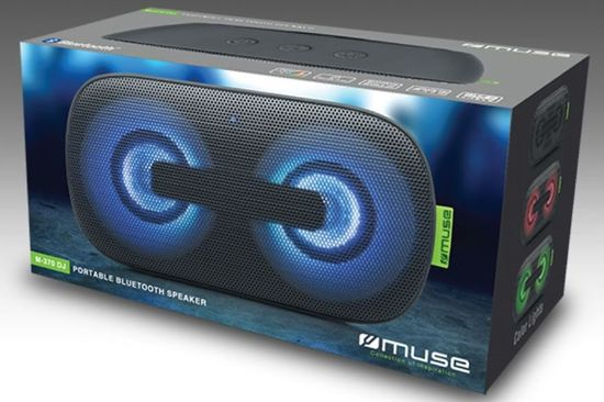Muse M-370 DJ Bluetooth zvočnik
