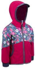 Unuo dziewczęca kurtka softshell STREET 128 - 134 różowy