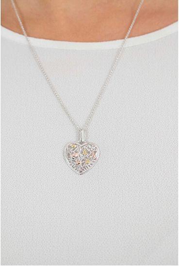 Engelsrufer Stříbrný náhrdelník Srdce strom života ERN-HEARTTREE stříbro 925/1000