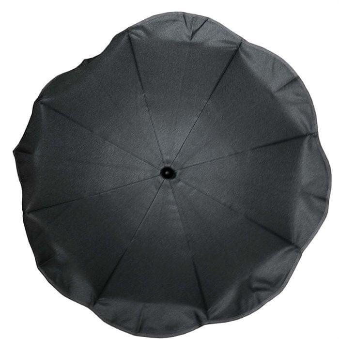Bambisol slunečník na kočárek, průměr 80 cm, černý
