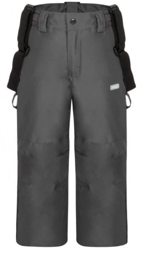 Loap dětské lyžařské kalhoty Cutie 134/140 šedá