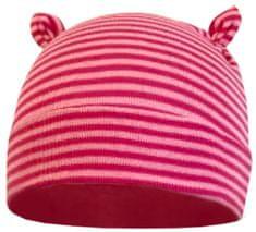 Yetty lány sapka fülekkel XS rózsaszín