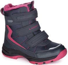 Loap lány téli cipő Sneeky 26 rózsaszín/kék