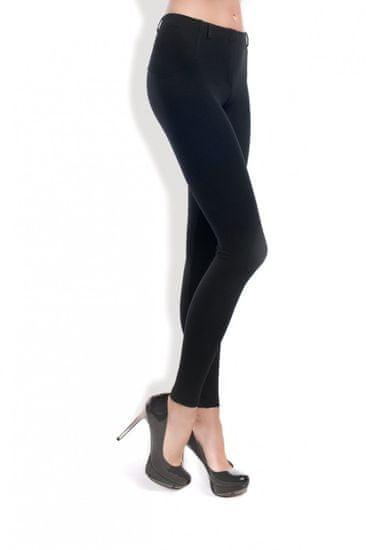 Gatta Női leggingsz 4502s + Nőin zokni Gatta Calzino Strech, fekete, M