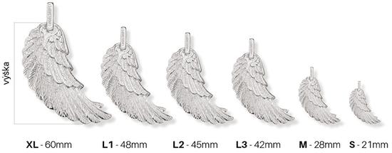 Engelsrufer Srebrny wisiorek ERW Angel Wing srebro 925/1000