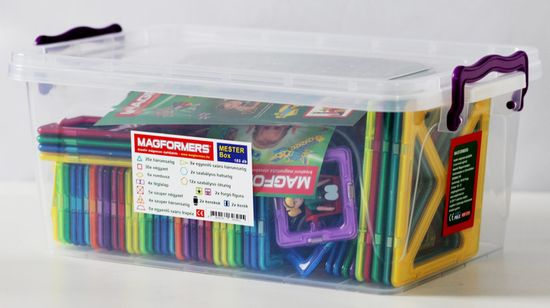 Magformers Master box škatla za ustvarjanje