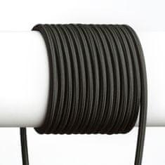 Bohemia Bohemia Design 3X0,75 1bm textilný kábel čierna 5808132