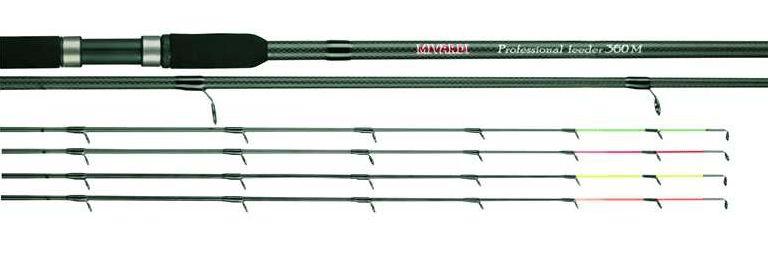 MIVARDI rybářský prut Professional feeder H 3,9 m 30-100g 2díl