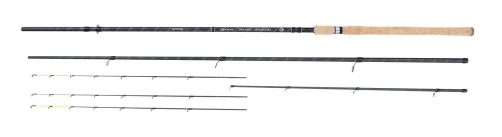 MIVARDI rybářský prut Genesis Feeder 3,90 m H 40 - 90 g
