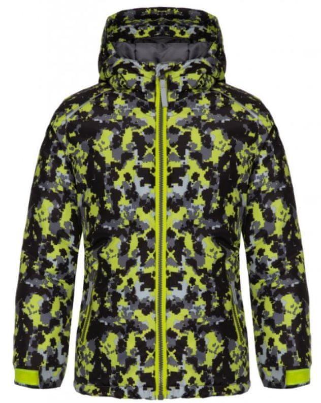 Loap dětská lyžařská bunda Curlly 122/128 vícebarevná