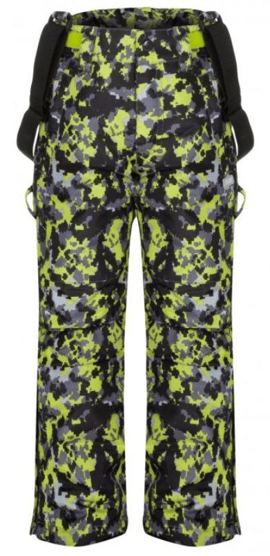 Loap dětské lyžařské kalhoty Cubby 134/140 šedá/žlutá