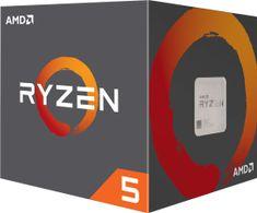 AMD Ryzen 5 1600 s chladičom Wraith Stealth, 12nm