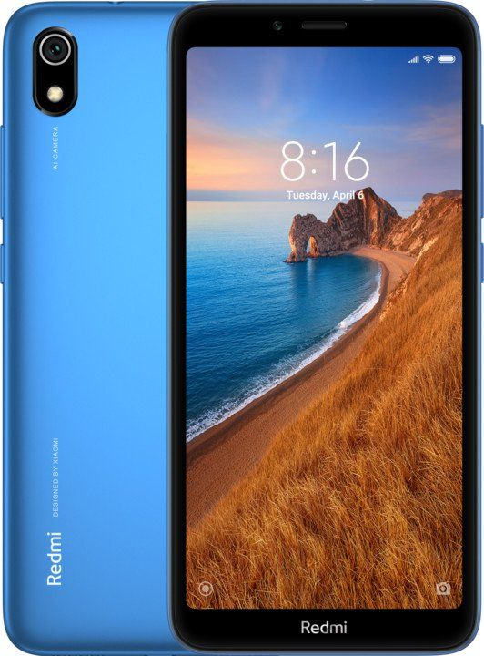 Xiaomi Redmi 7A, 2GB/16GB, Global Version, Matte Blue
