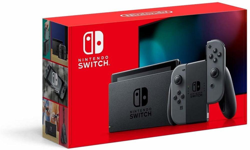 Nintendo Switch, šedá (NSH002)