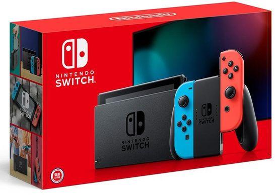 Nintendo Switch, červená / modrá (NSH006)