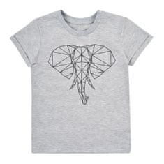 Garnamama dívčí tričko md80419_fm2 122 šedá