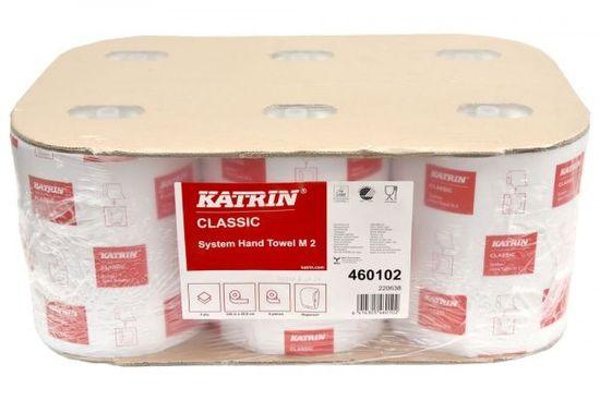 Katrin KATRIN SYSTEM Classic papírové ručníky v roli bílé, 2 vr., 6 kusů v balení