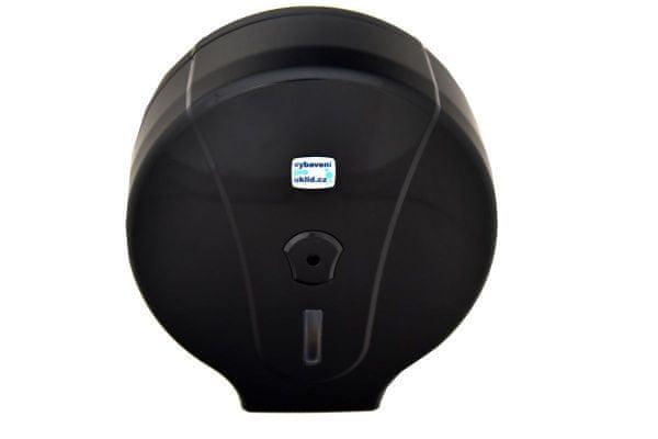 Cormen Zásobník WC papíru Jumbo 280 mm - černý
