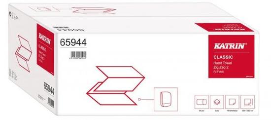 Katrin KATRIN CLASSIC skládané papírové ručníky, ZZ dvě vrstvy - 3000 ks